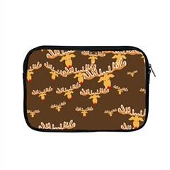 Christmas Reindeer Pattern Apple MacBook Pro 15  Zipper Case