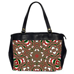 Christmas Kaleidoscope Office Handbags (2 Sides)  by Nexatart
