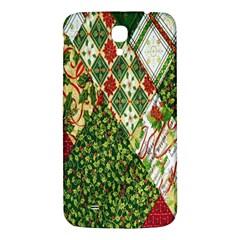 Christmas Quilt Background Samsung Galaxy Mega I9200 Hardshell Back Case