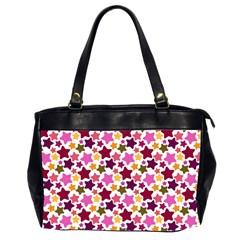Christmas Star Pattern Office Handbags (2 Sides)  by Nexatart