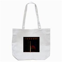 Christmas Xmas Bag Pattern Tote Bag (white) by Nexatart