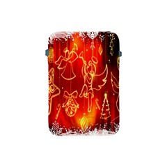 Christmas Widescreen Decoration Apple Ipad Mini Protective Soft Cases by Nexatart