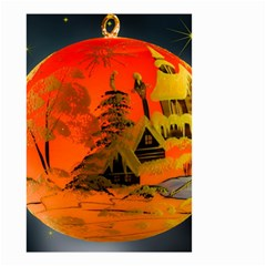 Christmas Bauble Small Garden Flag (two Sides) by Nexatart