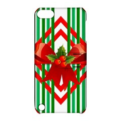 Christmas Gift Wrap Decoration Red Apple Ipod Touch 5 Hardshell Case With Stand by Nexatart