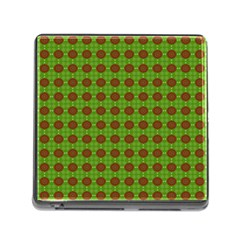 Christmas Paper Wrapping Patterns Memory Card Reader (square)