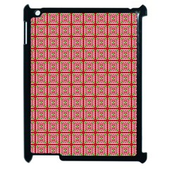 Christmas Paper Wrapping Pattern Apple Ipad 2 Case (black) by Nexatart