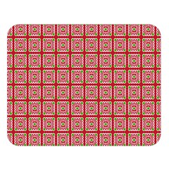 Christmas Paper Wrapping Pattern Double Sided Flano Blanket (large)  by Nexatart