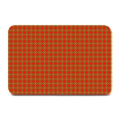 Christmas Paper Wrapping Paper Pattern Plate Mats by Nexatart