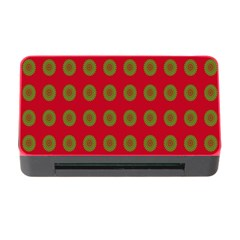 Christmas Paper Wrapping Paper Memory Card Reader with CF by Nexatart
