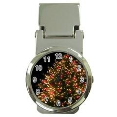 Christmas Tree Money Clip Watches by Nexatart