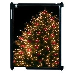 Christmas Tree Apple iPad 2 Case (Black) by Nexatart