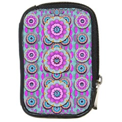 Magic Flowers From  The Paradise Of Lotus Compact Camera Cases by pepitasart