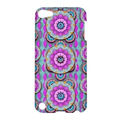 Magic Flowers From  The Paradise Of Lotus Apple Ipod Touch 5 Hardshell Case by pepitasart