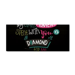 My Every Moment Spent With You Is Diamond To Me / Diamonds Hearts Lips Pattern (black) Cosmetic Storage Cases by FashionFling