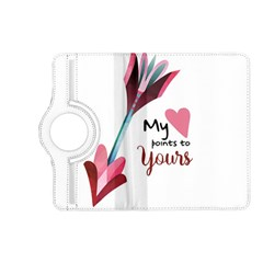 My Heart Points To Yours / Pink And Blue Cupid s Arrows (white) Kindle Fire Hd (2013) Flip 360 Case by FashionFling