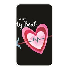 You Are My Beat / Pink And Teal Hearts Pattern (black)  Memory Card Reader by FashionFling
