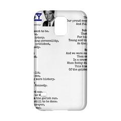 Kennedy Poem Samsung Galaxy S5 Hardshell Case  by athenastemple