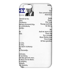 Kennedy Poem Iphone 6 Plus/6s Plus Tpu Case by athenastemple