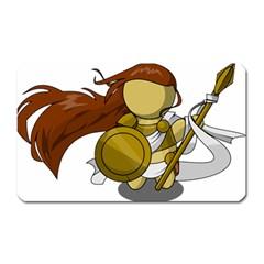 Athena Magnet (rectangular) by athenastemple