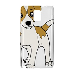 Jack Russell Terrier Cartoon Samsung Galaxy Note 4 Hardshell Case by TailWags