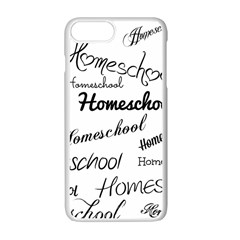 Homeschool Apple Iphone 7 Plus White Seamless Case by athenastemple