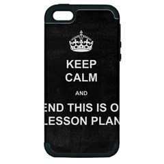 Lessonplan Apple Iphone 5 Hardshell Case (pc+silicone) by athenastemple