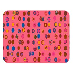 Circles Abstract Circle Colors Double Sided Flano Blanket (large)  by Nexatart