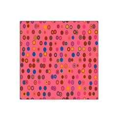 Circles Abstract Circle Colors Satin Bandana Scarf by Nexatart