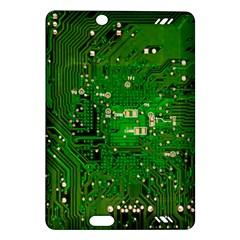 Circuit Board Amazon Kindle Fire HD (2013) Hardshell Case by Nexatart