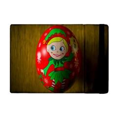 Christmas Wreath Ball Decoration Apple Ipad Mini Flip Case by Nexatart