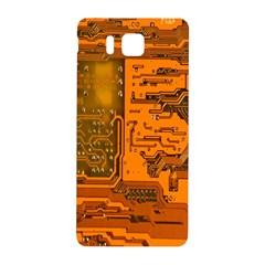 Circuit Samsung Galaxy Alpha Hardshell Back Case by Nexatart