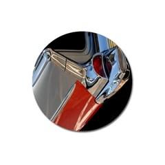 Classic Car Design Vintage Restored Magnet 3  (round) by Nexatart