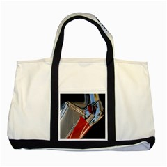 Classic Car Design Vintage Restored Two Tone Tote Bag by Nexatart