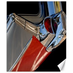 Classic Car Design Vintage Restored Canvas 20  x 24   by Nexatart