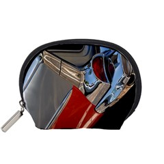 Classic Car Design Vintage Restored Accessory Pouches (small)  by Nexatart