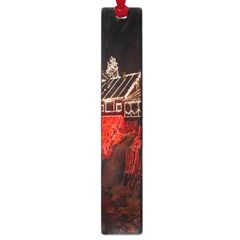 Clifton Mill Christmas Lights Large Book Marks by Nexatart