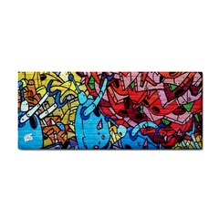 Colorful Graffiti Art Cosmetic Storage Cases by Nexatart