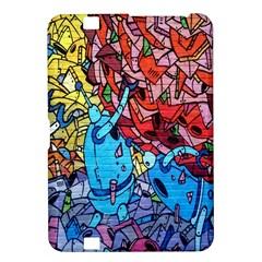 Colorful Graffiti Art Kindle Fire Hd 8 9  by Nexatart