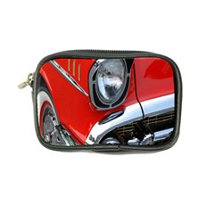 Classic Car Red Automobiles Coin Purse by Nexatart