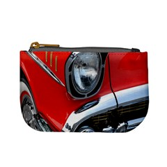 Classic Car Red Automobiles Mini Coin Purses by Nexatart