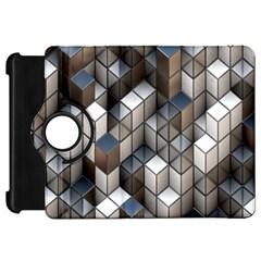 Cube Design Background Modern Kindle Fire Hd 7  by Nexatart