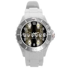 Daisy Bird  Round Plastic Sport Watch (l) by Nexatart