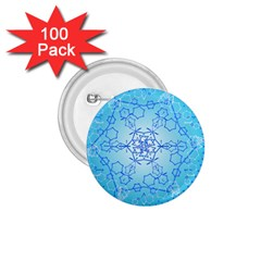 Design Winter Snowflake Decoration 1.75  Buttons (100 pack)