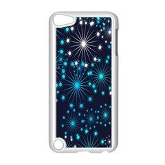 Digitally Created Snowflake Pattern Apple Ipod Touch 5 Case (white) by Nexatart