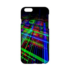 Electronics Board Computer Trace Apple iPhone 6/6S Hardshell Case by Nexatart