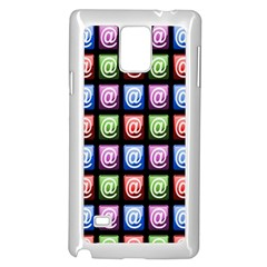 Email At Internet Computer Web Samsung Galaxy Note 4 Case (White) by Nexatart