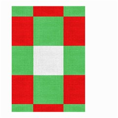 Fabric Christmas Colors Bright Small Garden Flag (Two Sides)