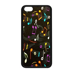 Fabric Cloth Textile Clothing Apple Iphone 5c Seamless Case (black) by Nexatart