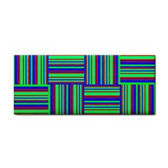 Fabric Pattern Design Cloth Stripe Cosmetic Storage Cases by Nexatart