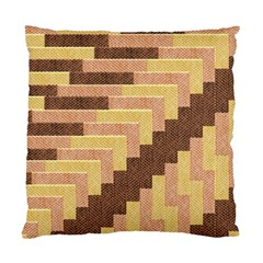 Fabric Textile Tiered Fashion Standard Cushion Case (one Side) by Nexatart